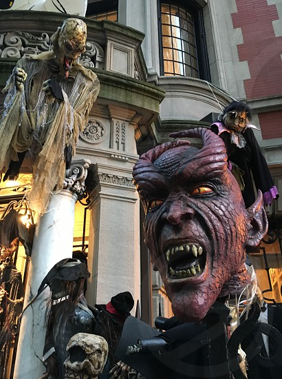 red devil mask costume photo