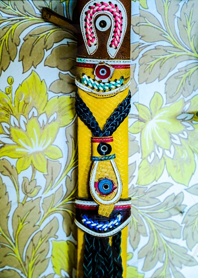 Colors Indian handmade crafts craft leather colorful photo