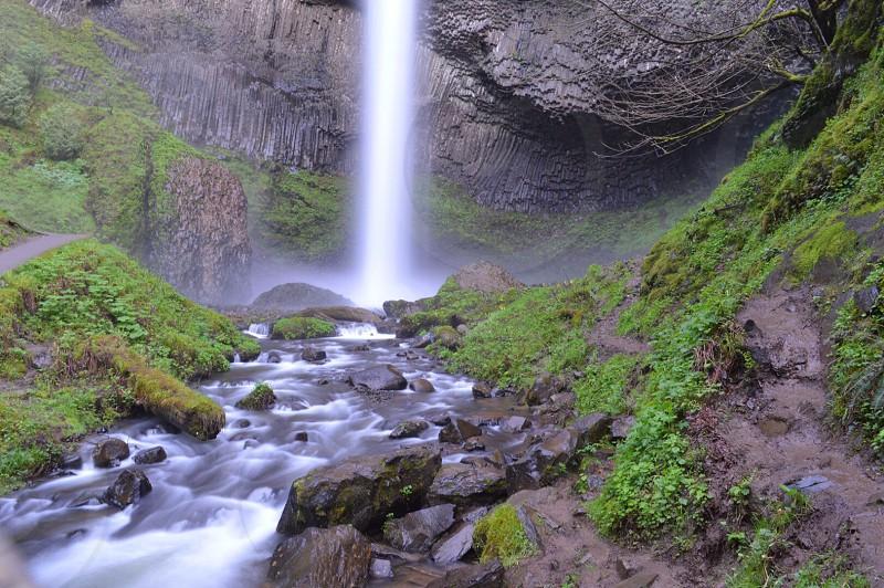 Latourell Falls Columbia Gorge OR photo