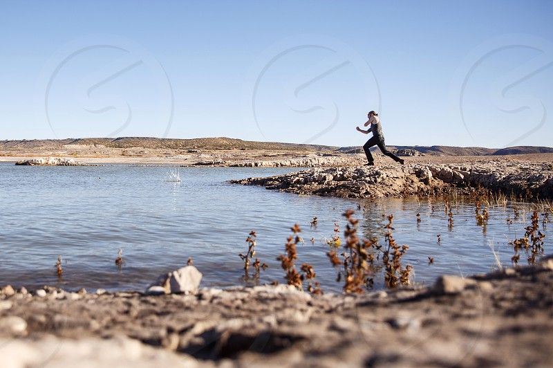 Rattlesnake island New Mexico truth or consequences travel scenery adventure skipping stones road trip photo