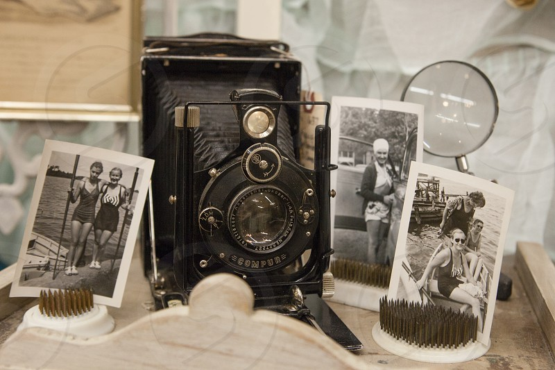vintage camera photos brownie  photo