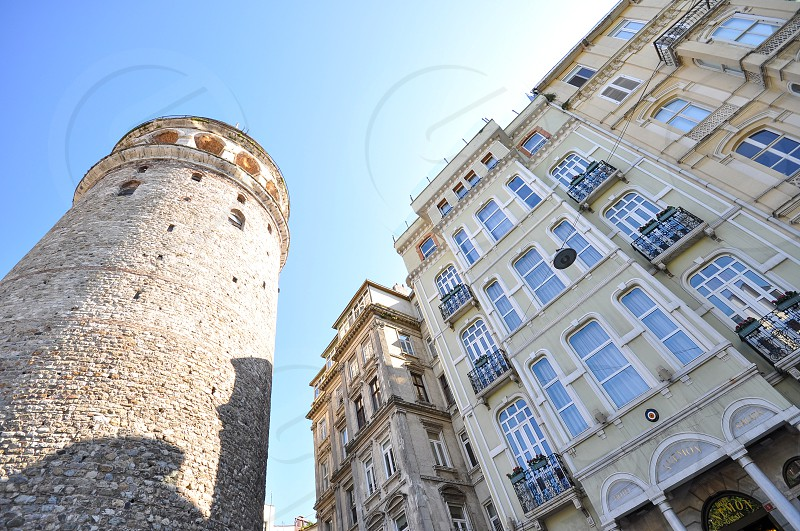 Galata Tower in Istanbul Turkey photo