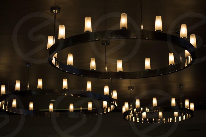 Rustic chandelier.  photo