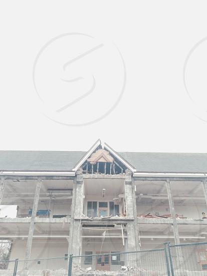School Demolition  photo