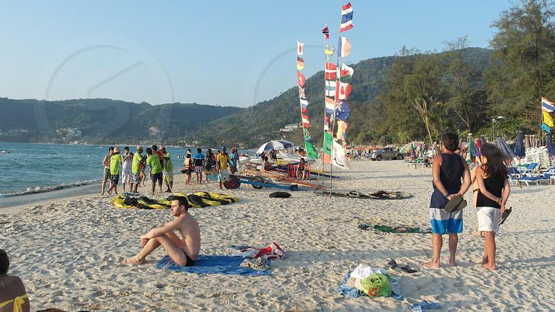 patong phuket thailand photo