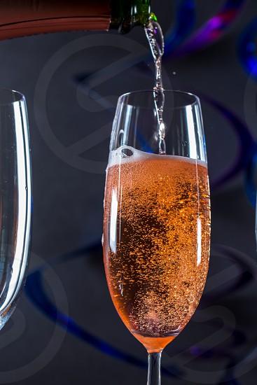 Champagne celebration photo