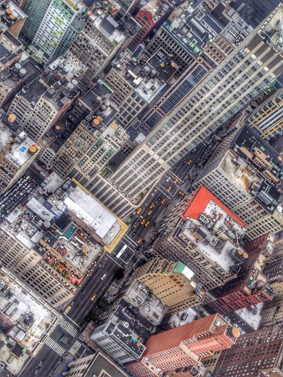Heights skyline rooftop New York vertigo  photo