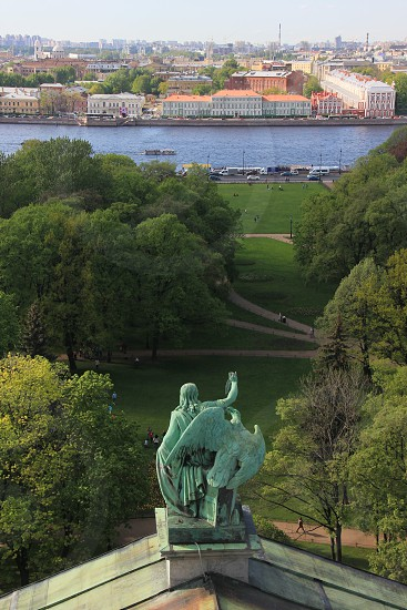 View from St. Isaac's Cathedral St.Petersburg 2015 photo