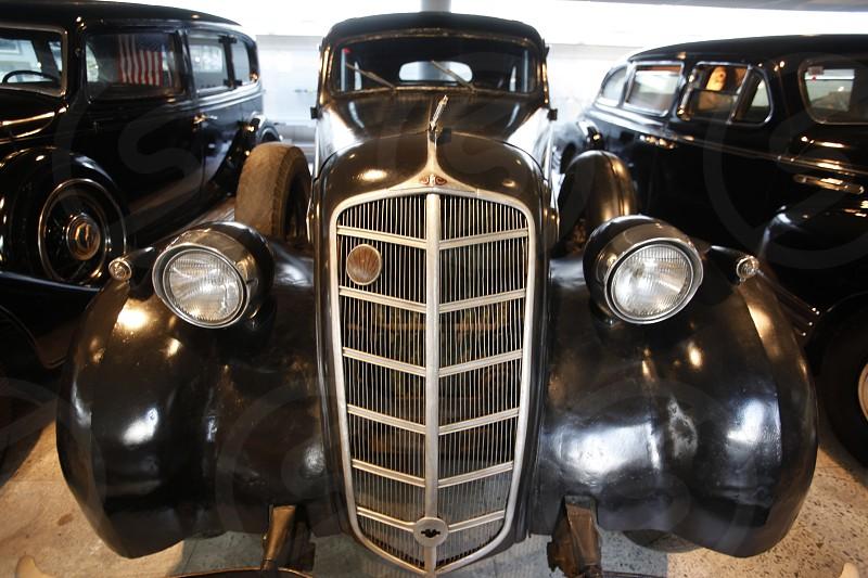 EUROPE LATVIA RIGA CAR OLD CAR MOUSEUM CAR MUSEUM SOVIETUNION GOUVERNMENT CAR CCCP SOVIET photo