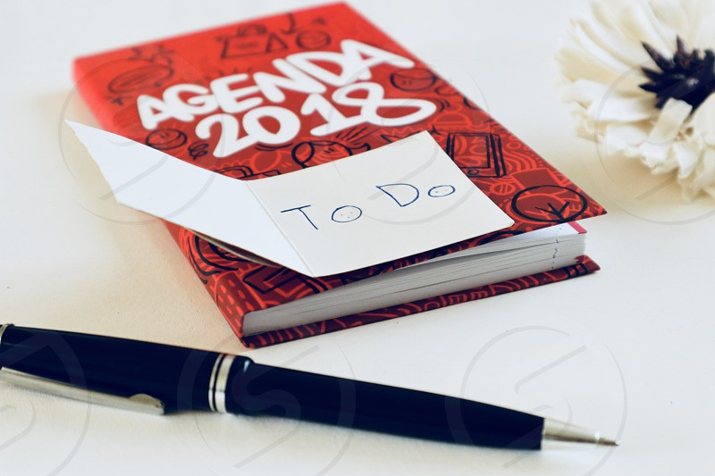 To do's calender  photo