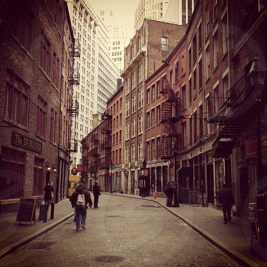 Stone Street New York. photo