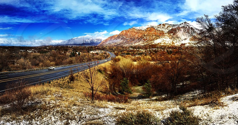 Ogden Ogden Utah Utah north Utahmountain wasatch wasatch front wasatch range wasatch mountains desert dirtbag blue skies iphoneshot iPhone snapseed travel car truck suv road trip photo