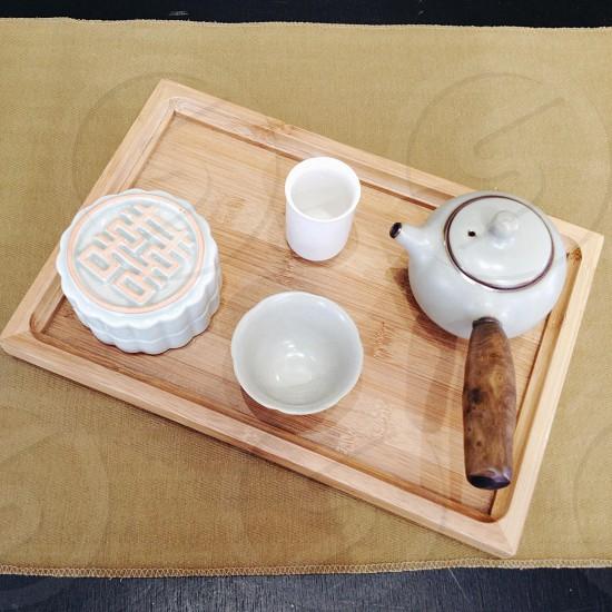 Chinese•tea•souvenir photo