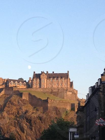 Edinburgh Castle from Castle Street photo