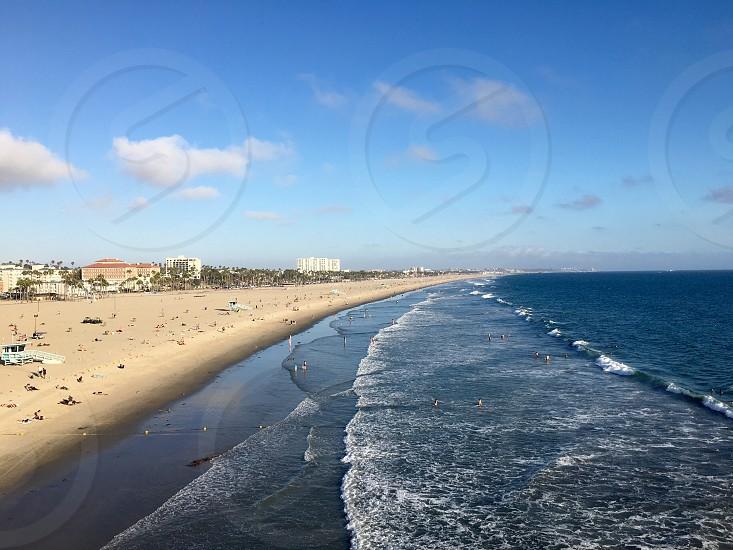Beaches from Santa Monica  photo