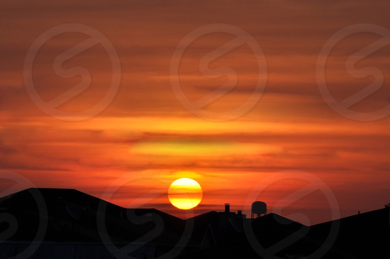 TX Sunset photo