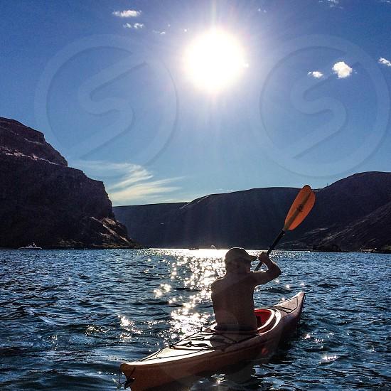 Kayaking eastern Washington  photo