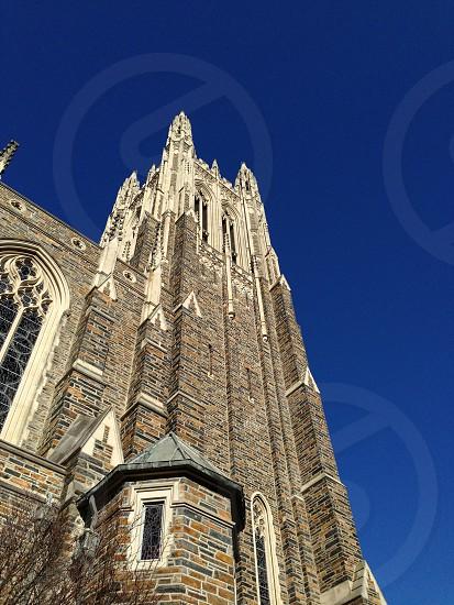 Duke University chapel  photo