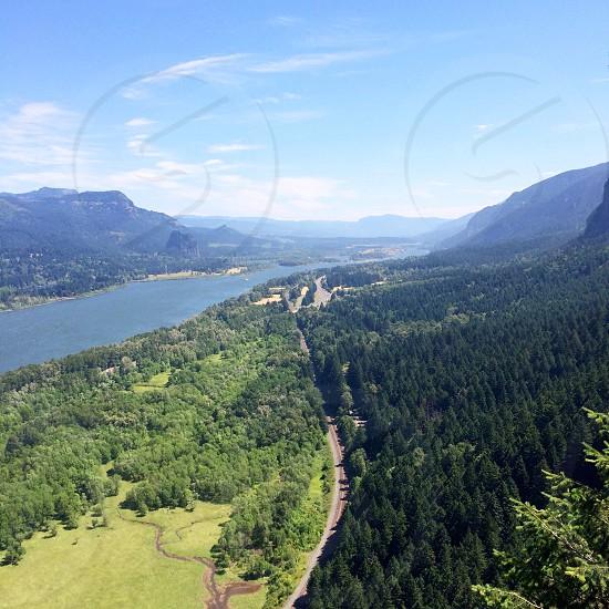 The Columbia River Gorge photo