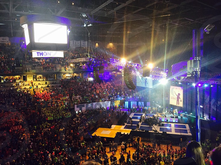 The Penn State IFC/Panhellenic Dance Marathon (THON) 2015 Empower the Dreamers photo