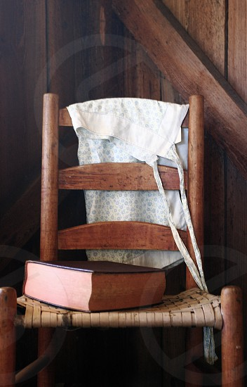 Chair with Book photo