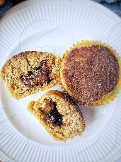 Surprise Nutella muffins with cinnamon & Nutmeg - Yummy.... Recipe in smithasbakelove.com photo