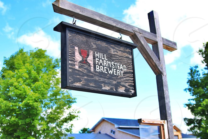 Hill Farmstead Brewery signage photo