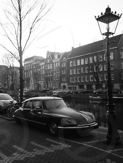 Vintage car - Amsterdam photo