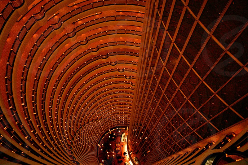 aerial view of skyscraper photo