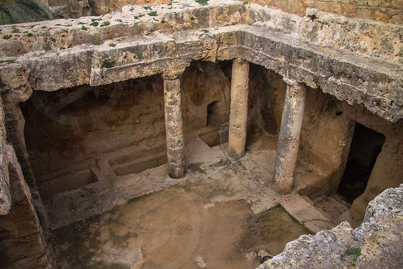 Thombs of the Kings Paphos Cyprus  photo