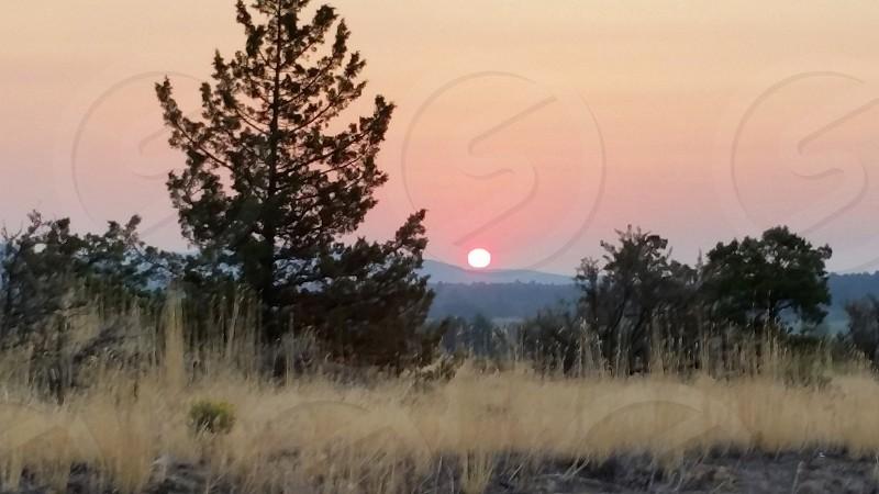 Sunrise Central Oregon. Terrebonne. photo