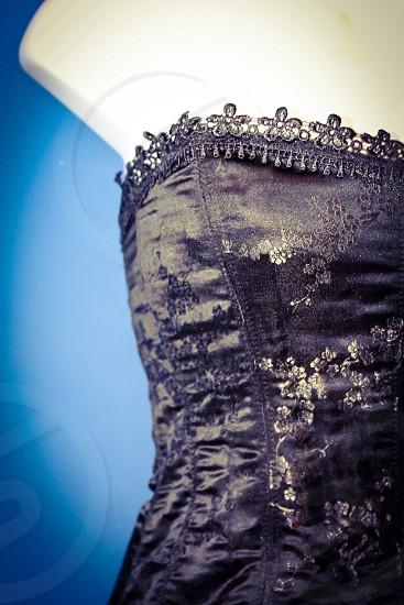 Textured corset photo