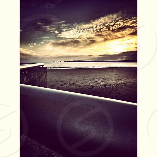 Swansea Beach mid winter photo