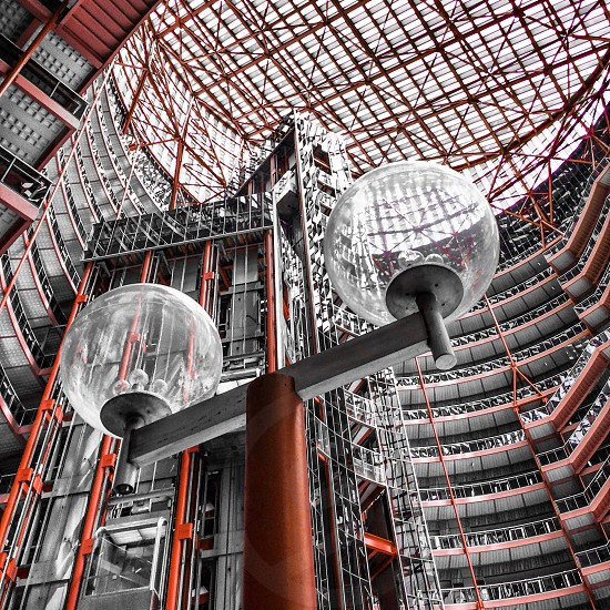 Colorsplash in the Thompson center. photo
