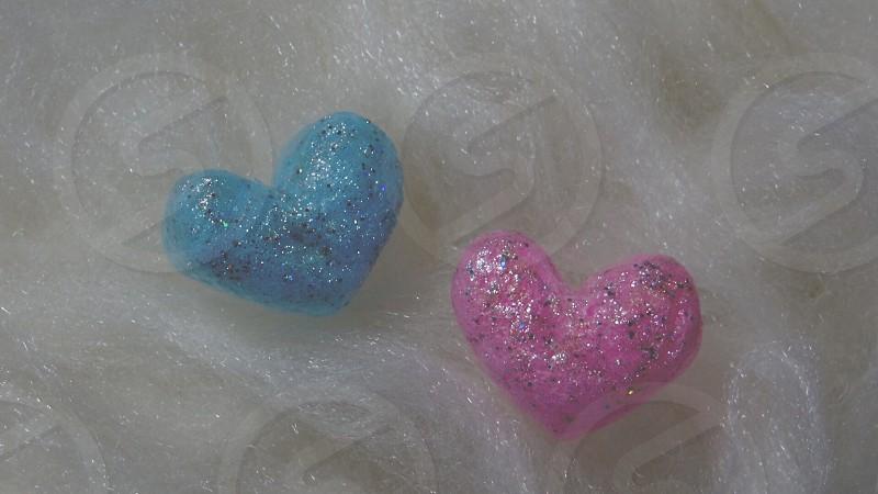 heart marks photo