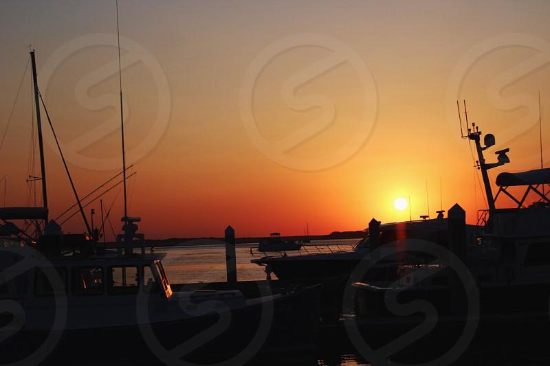 Beautiful sunset I captured. photo