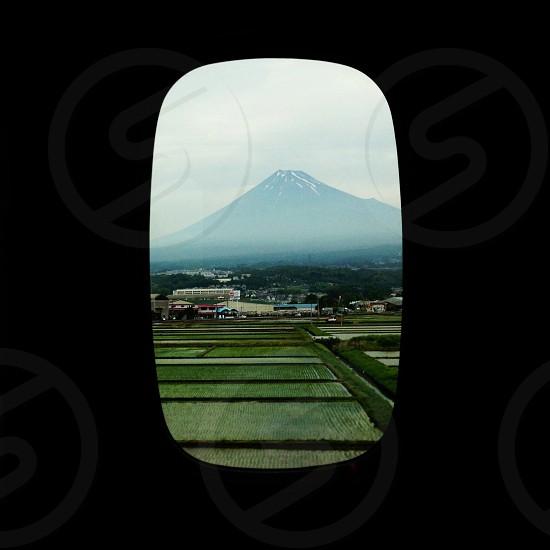 mt. fuji from the shinkansen. photo