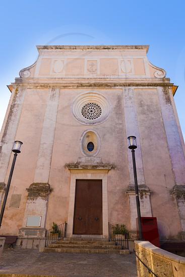 Majorca Capdepera Sant Bertomeu church in Mallorca Balearic Islands Spain photo