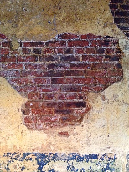 Brick and Plaster Wall photo