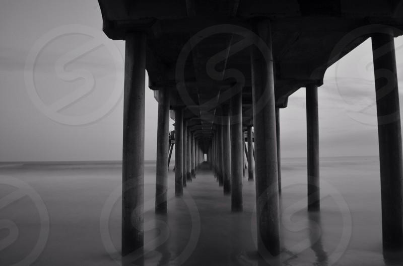 under bridge photography  photo