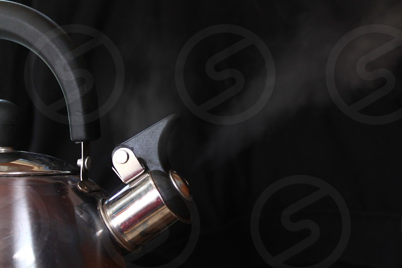 Boiling kettle.  photo