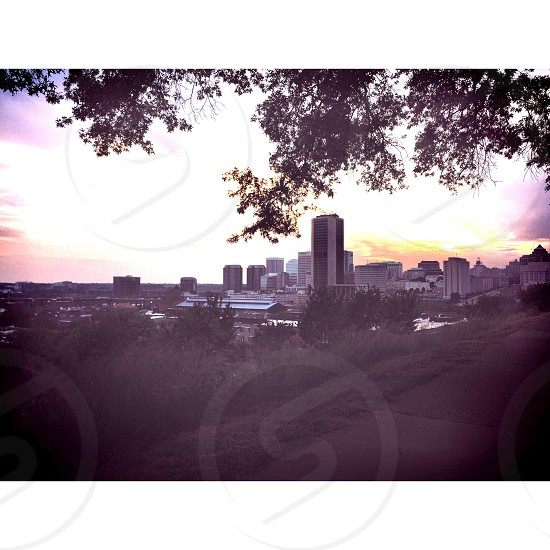 Over looking the city in Richmond VA photo