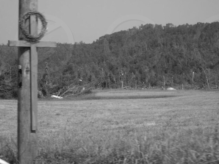 My Shoal Creek community in Alabama after the April 27 2011 tornadoes. photo