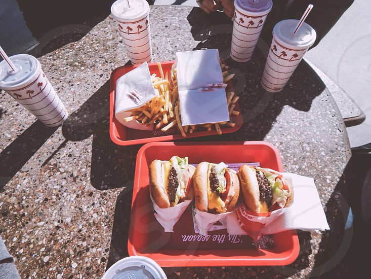 In-n-out🍔🍟 photo