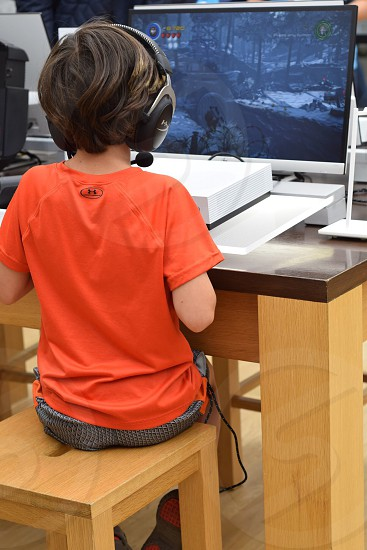 Kids Using technology lifestyle challenge  photo