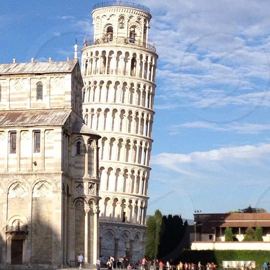 The pending tower in Pisa photo
