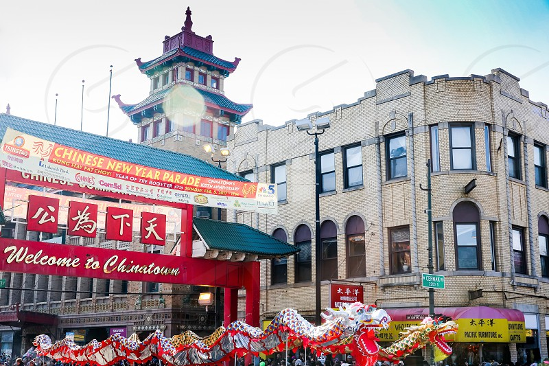 Chinatown's Chinese New Year Parade offers entertainment for all ages.  photo