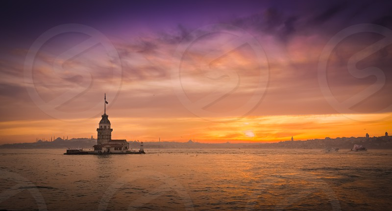 Maiden's Tower Istanbul Turkey photo