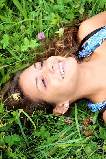 Happy Field of Flowers photo