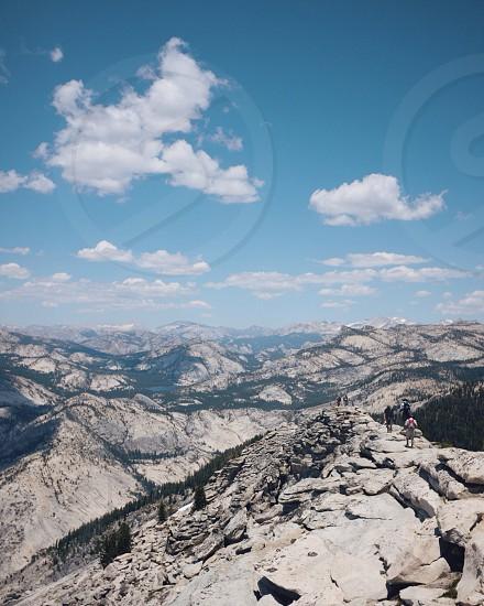 Clouds Rest: elevation 10000ft. Yosemite National Park photo